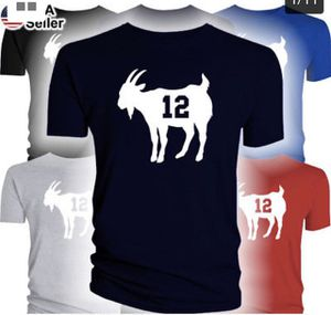 New England Patriots Tom Brady Navy Super Bowl Game Jersey t shirt Goat 12 for Sale in Miami, FL