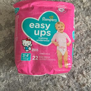 Pampers Easy Ups 3T-4T for Sale in Los Angeles, CA