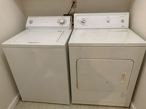 Whirlpool washer & Kenmore dryer for Sale in Renton, WA