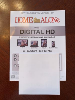 Home Alone digital HD copy for Sale in Raleigh, NC