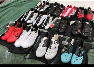 New Specialized SWorks Carbon Soles Road and Mountain Bike Shoes $150-$300 each for Sale in Hillsboro Beach, FL