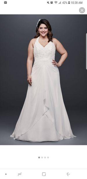 Beautiful white wedding dress for Sale in Harrisonburg, VA