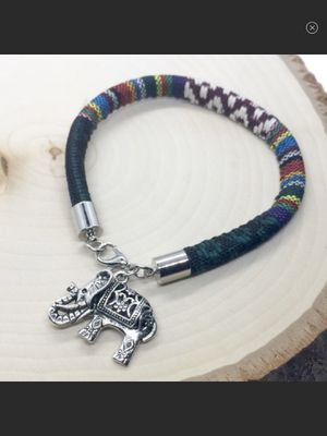 NWT Multi-Color Bohemian Style Indian Elephant Charm Bracelet for Sale in Arbovale, WV