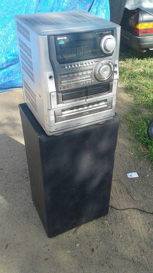 Aiwa stereo $20 acoustic speaker $25 for Sale in Fresno, CA