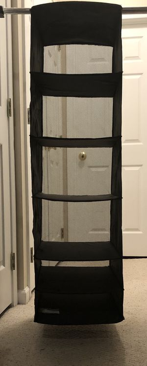 Black Closet Organizer for Sale in Aldie, VA