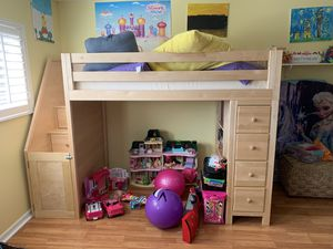 Loft bed with storage for Sale in Oviedo, FL