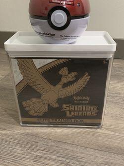 Shining Legends Pokémon Elite Trainer Box for Sale in Auburn,  WA