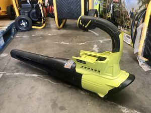 RYOBI 155 MPH 300 CFM 40-Volt Lithium-Ion Cordless Battery Jet Fan Leaf Blower (Tool Only) for Sale in Garden Grove, CA