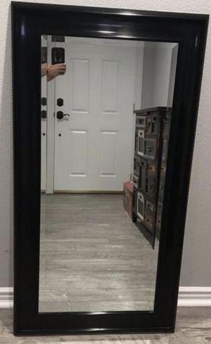 Black Wall Mirror 25in x 27.5in for Sale in Walnut, CA