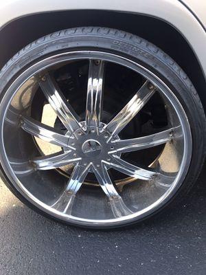 24 inch rims 24s for Sale in McLean, VA