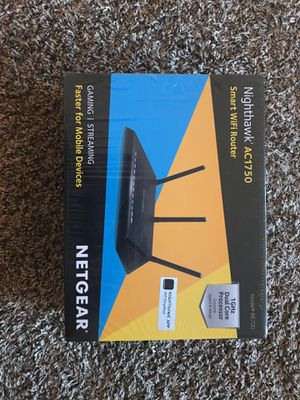 Netgear nighthawk smart wifi router for Sale in Cleveland, OH