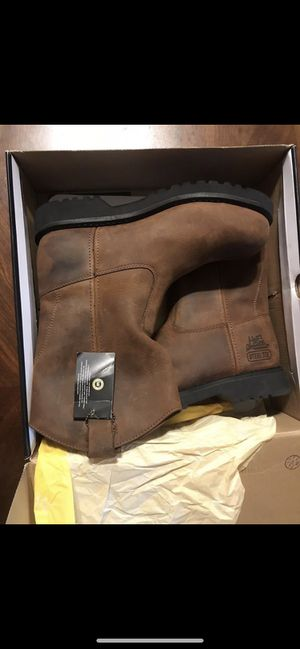 Steel toe boots for work Size 11 it's the only size Pick up in Mebane NC for Sale in Mebane, NC