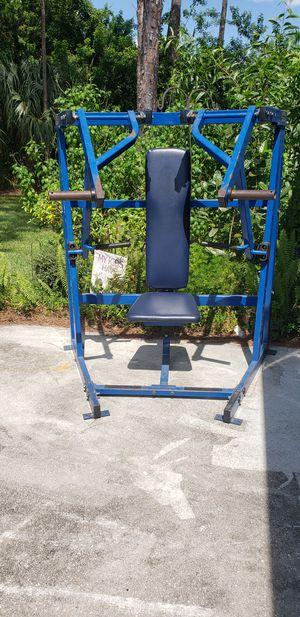 Hammer lateral chest press for Sale in North Miami Beach, FL