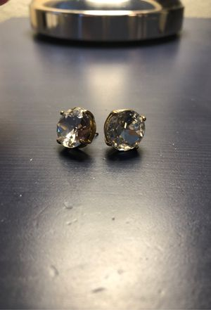 Kate Spade oversized diamond stud earrings for Sale in Denver, CO