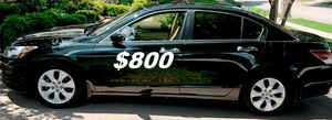 $8OO URGENT I sell my family car 2OO9 Honda Accord Sedan Runs and drives great. for Sale in Los Angeles, CA