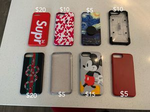iPHONE 7/8 PLUS CASES FOR SALE for Sale in South Salt Lake, UT