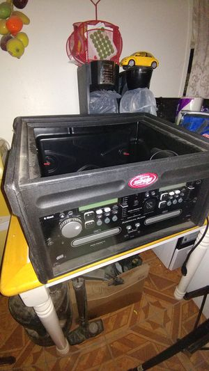 CD player with case for Sale in Avondale, AZ