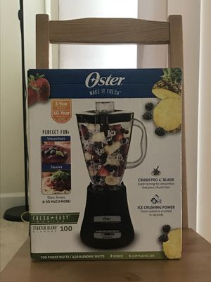 Oster Blender 6 cup Plastic Jar good condition $10 for Sale in Falls Church, VA