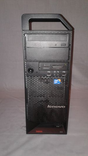 Lenovo WorkStation for Sale in Clinton, IA