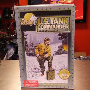 Ultimate Soldier US Tank Commander Action Figure for Sale in Vancouver, WA