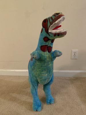Melissa & Doug T-rex stuffed dinosaur animal for Sale in Arlington, VA