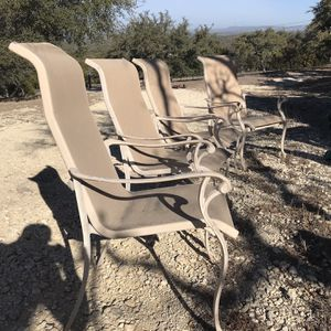 Iron Patio Chairs for Sale in Pipe Creek, TX