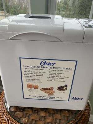 Oster 2 1/2 lb bread maker machine for Sale in Bel Air, MD