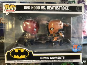 PX Previews SDCC 2020 EXC DC Red Hood vs Deadthstroke Funko Pop! Comic Moment for Sale in Norwalk, CA