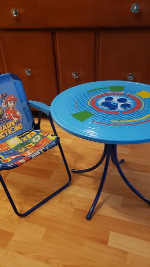 Kids table and chair for Sale in DeBary, FL