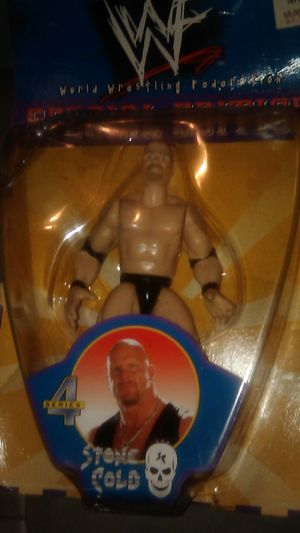 Wrestling action figures from the 90s, collectibles unopened for Sale in Modesto, CA