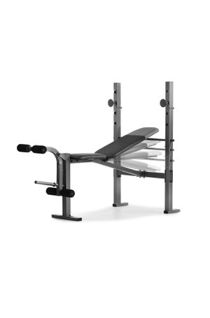 Weider XR 6.1 Multi-Position Weight Bench with Leg Developer and Exercise Chart for Sale in Newark, NJ
