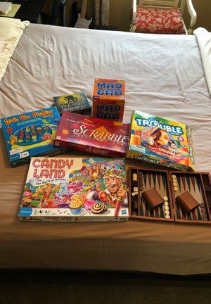 Board games assorted for Sale in Marietta, GA