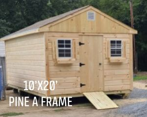New 10' x 20' Pine A Frame Shed for Sale in Lowell, MA