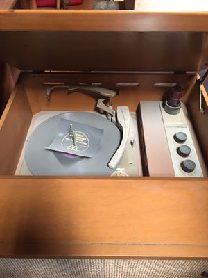 Old but New Vintage Motorola Victrola Record Player + Vinyl Records for Sale in Castro Valley, CA