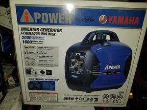 Yamaha generators 2000 watts for Sale in Pomona, CA