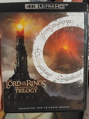 LORD OF THE RINGS TRILOGY 4K HDR DIGITAL EDITION CODE ONLY for Sale in Miami, FL