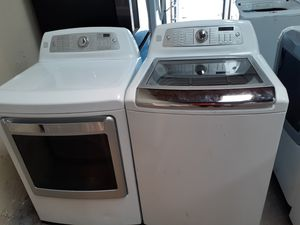 Kenmore elite washer steam electric dryer for Sale in Irving, TX