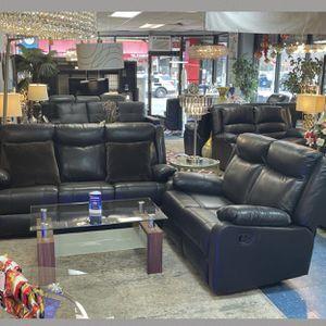 Sofa reclinable de cuero y sofa de dos plazas🎊Ahora solo $995⭐️ ⚠️CANTIDAD LIMITADA‼ ️ for Sale in Queens, NY