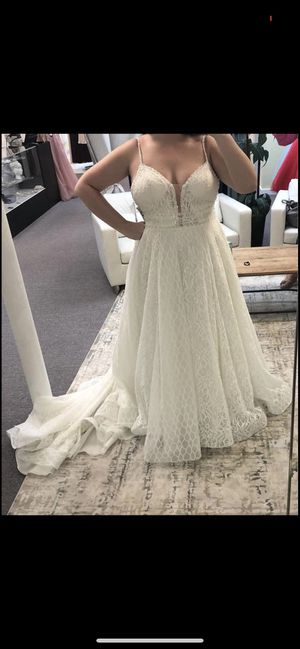 Wedding Dress new with tags Size 16 for Sale in Port St. Lucie, FL