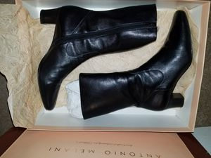 Antonio melani black boots for Sale in Orlando, FL