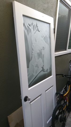 "Etched glass Snow White door 36"" wide for Sale in Long Beach, CA"