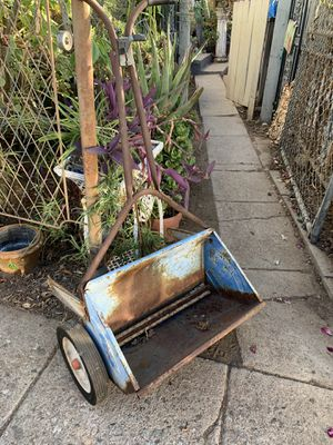 Vintage Grass seeder Garden Decor for Sale in Brea, CA
