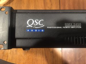 QSC Audio RMX2450 professional power amplifier for Sale in El Cajon, CA
