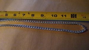 27 inch Cuban silver necklace for Sale in Lakewood Township, NJ