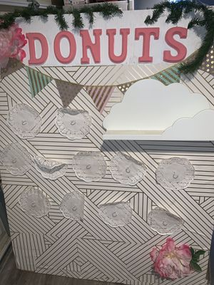 Donut wall~ Donut Floor Stand for Sale for Sale in South Gate, CA