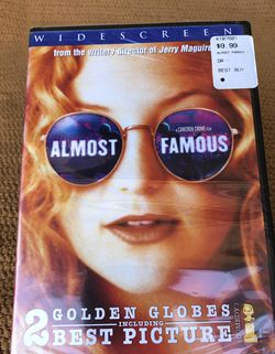 *New* Almost Famous DVD (Factory Sealed) for Sale in Fountain Valley,  CA