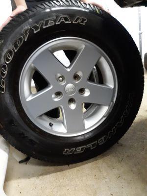 5 jeep wheels for Sale in Midlothian, VA