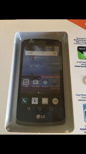 Cellphone, Trackfone LG Rebel LTE, Android smartphone $28 for Sale in Burbank, CA