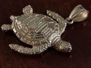 14k gold sea turtle pendant for Sale in Portland, OR