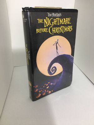 The Nightmare Before Christmas VHS for Sale in Chicago, IL